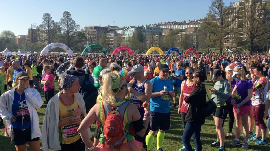 Brighton Marathon Prerace - Thisrunnerlovespurple.co.uk
