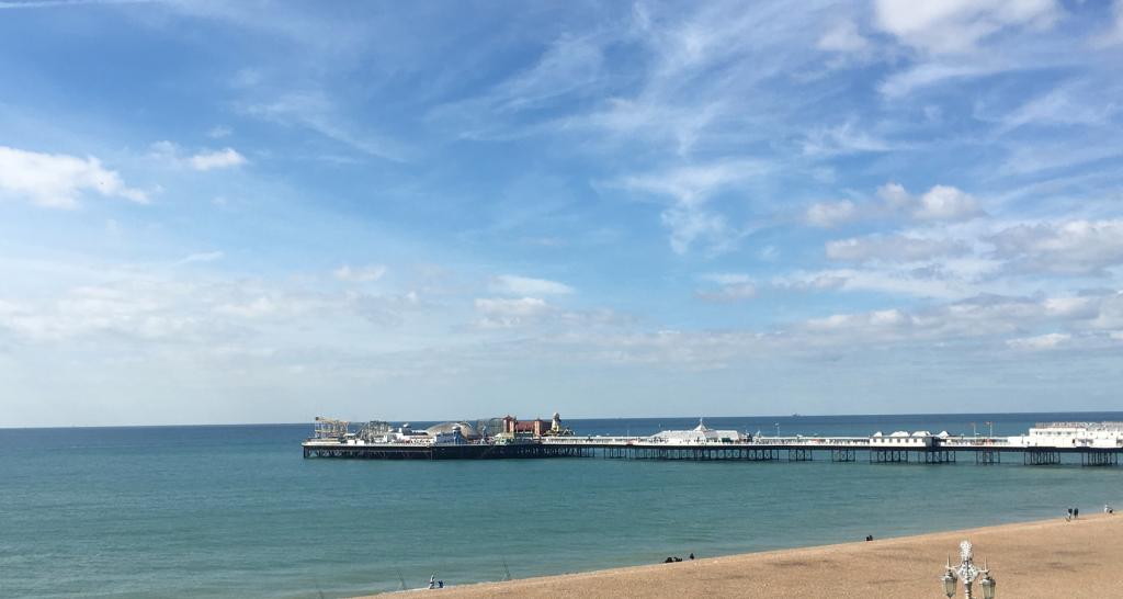 Brighton Marathon Beach - Thisrunnerlovespurple.co.uk