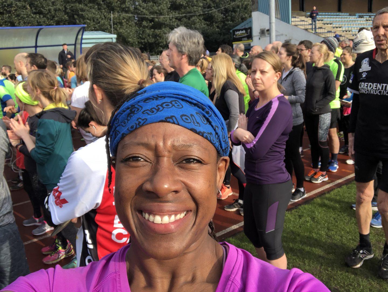 Manchester Marathon -Stretford parkrun